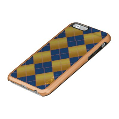 Argyle pattern incipio feather® shine iPhone 6 case