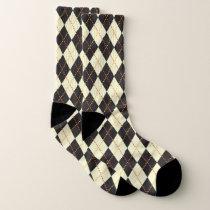Argyle Pattern Socks