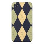 Argyle Patterned Iphone Case iPhone 4/4S Case