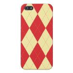Argyle Patterned Iphone Case iPhone 5 Case