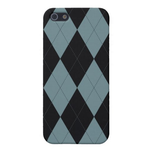 Argyle Patterned Iphone Case iPhone 5 Cases