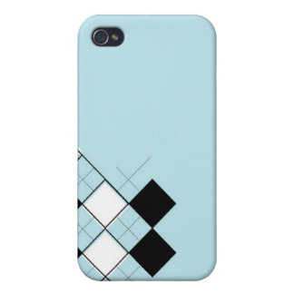 Argyle Phone Case For iPhone 4