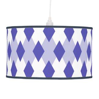 Argyle Plaid Pattern Ceiling Lamp