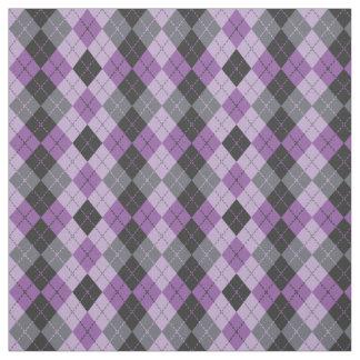 Argyle púrpura telas