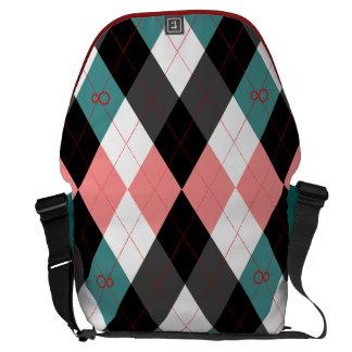 Argyle Revisited 3 Messenger Bag