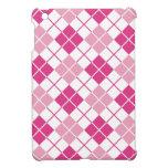 Argyle rosado iPad mini coberturas