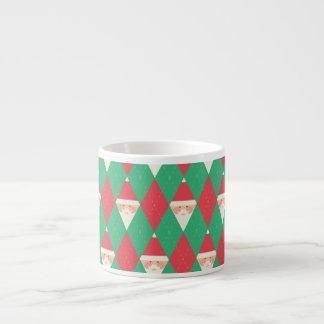 Argyle Santa Pattern Espresso Cup