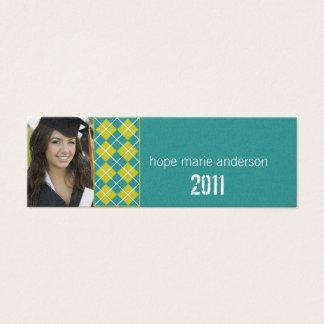Argyle Senior Pictures Senior Profile Card