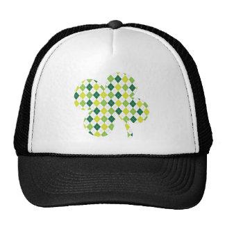 Argyle Shamrock Trucker Hat