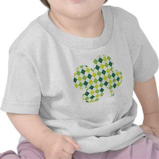 Argyle Shamrock Tee Shirts