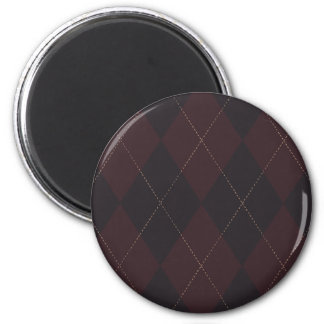 Argyle Style Pattern Magnet