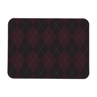 Argyle Style Pattern Premium Flexi Magnet