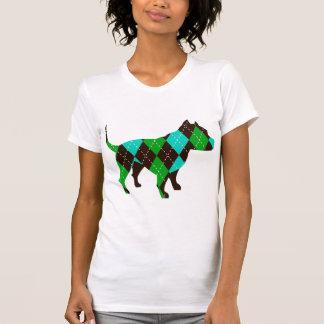 Argyle T-Shirt - Pitbull Tee Shirts