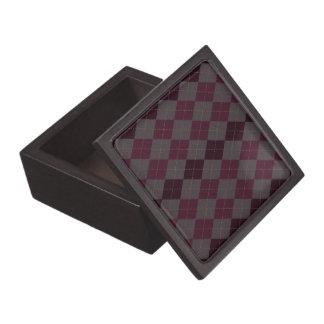 Argyle Top Premium Trinket/Jewelry Box for Him Premium Gift Box
