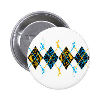 Argyle Tribal Buttons