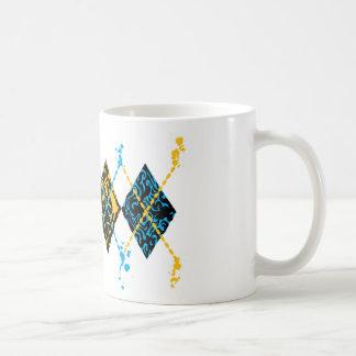 Argyle Tribal Coffee Mugs