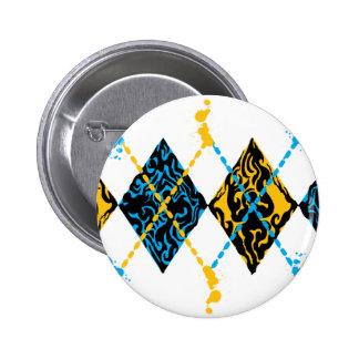 Argyle tribal pin
