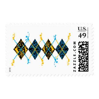 Argyle Tribal Postage
