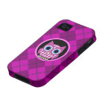 argyle with owl iPhone 4/4S case