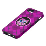 argyle with owl iPhone 5 cases