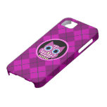 argyle with owl iPhone 5 cover