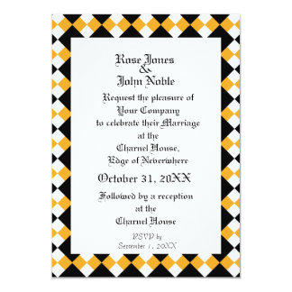 Argyll Ivory XI (Amber) Wedding Invitation