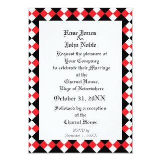 Argyll Ivory XI (Ruby) Wedding Invitation
