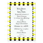Argyll Ivory XVI (Yellow) Wedding Invitation