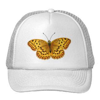 Argynnis Fritillary Butterfly Mesh Hat
