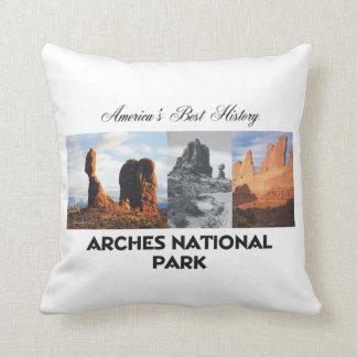 ARH Arches National Park Throw Pillow