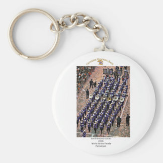 ARHS Band Giants World Series Parade #2 Keychain