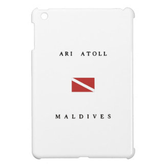 Ari Atoll Maldives Scuba Dive Flag iPad Mini Covers