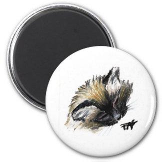 Ari Cat 1 2 Inch Round Magnet