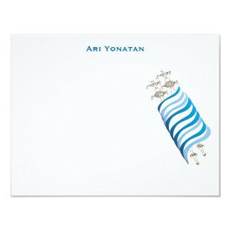Ari Yonatan Torah Bar Mitzvah Invitation Thank