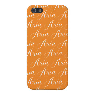 Aria - Modern Calligraphy Name Design Cover For iPhone SE/5/5s