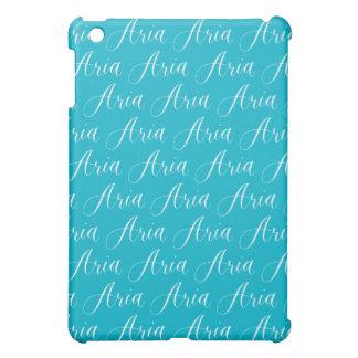 Aria - Modern Calligraphy Name Design Cover For The iPad Mini