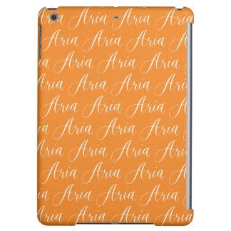 Aria - Modern Calligraphy Name Design iPad Air Case
