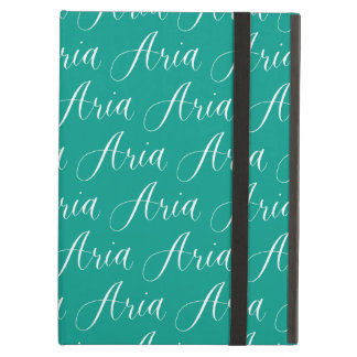 Aria - Modern Calligraphy Name Design iPad Air Cases