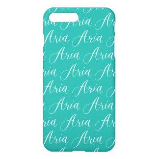 Aria - Modern Calligraphy Name Design iPhone 7 Plus Case