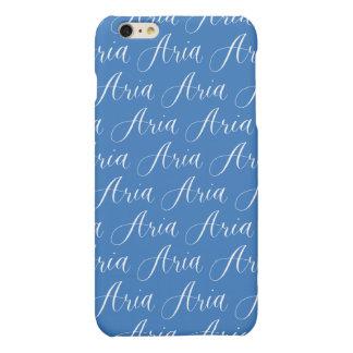Aria - Modern Calligraphy Name Design Matte iPhone 6 Plus Case