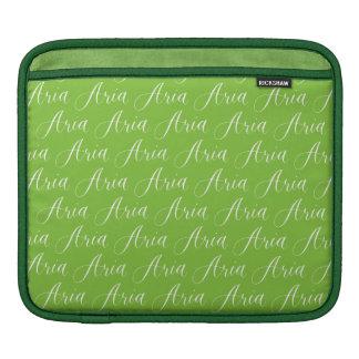 Aria - Modern Calligraphy Name Design Sleeve For iPads