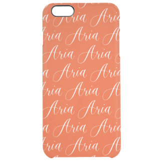 Aria - Modern Calligraphy Name Design Uncommon Clearly™ Deflector iPhone 6 Plus Case