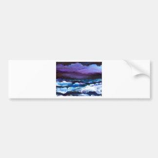 Aria Ocean Waves Art Gifts CricketDiane Art Bumper Sticker