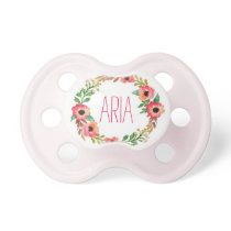 """Aria"" Simple & Elegant Personalized Name Pacifier"