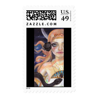 Ariadne after Theseus's departure Postage Stamps