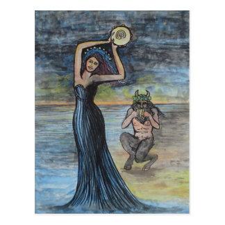 Ariadne and Dionysus Postcard