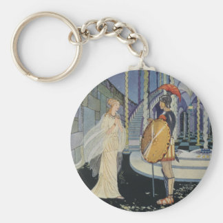 Ariadne and Theseus Keychain