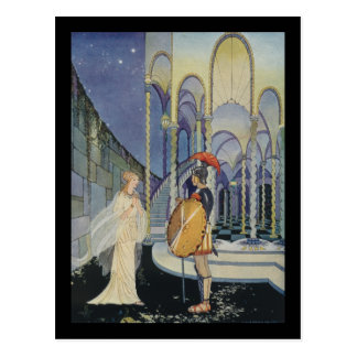 Ariadne and Theseus Postcard