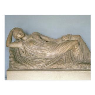 Ariadne Asleep, Hellenistic from Alexandria, 2nd c Postcard