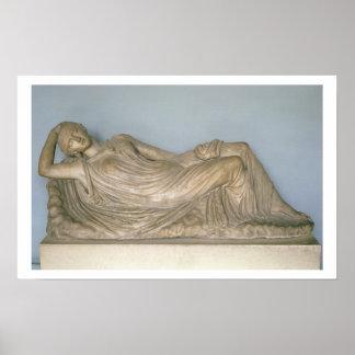 Ariadne Asleep, Hellenistic from Alexandria, 2nd c Print